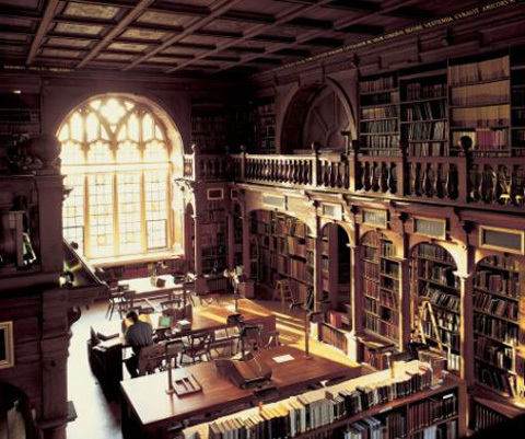 Duke Humfrey's Library at Bodleian Library from the Harry Potter Series