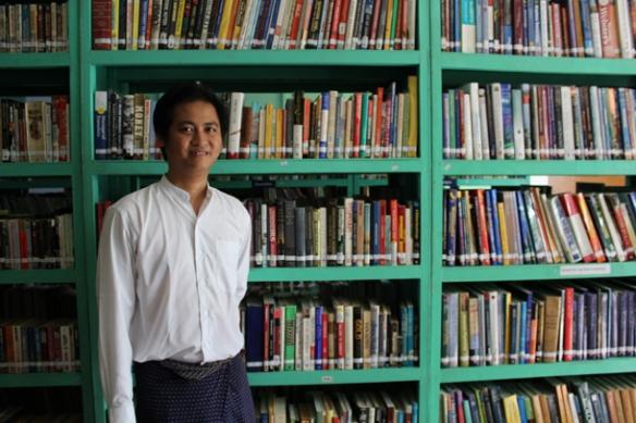 Burma's Lucky Bibliophile