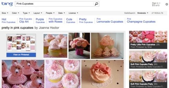 Bing Pinterest