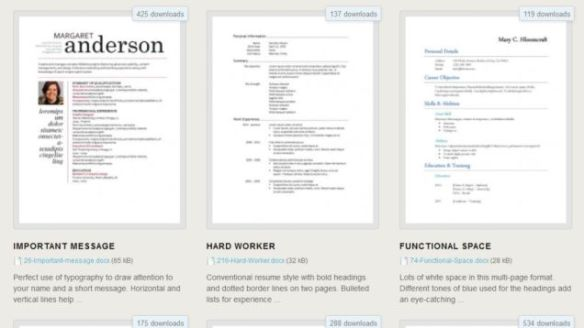 Download  Free Resume Templates For Microsoft Word  Lifehacker