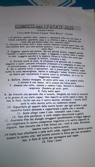 Get Off The Computer And Complete This Italian Teacher's Summer Assignment. You Won't Regret It.