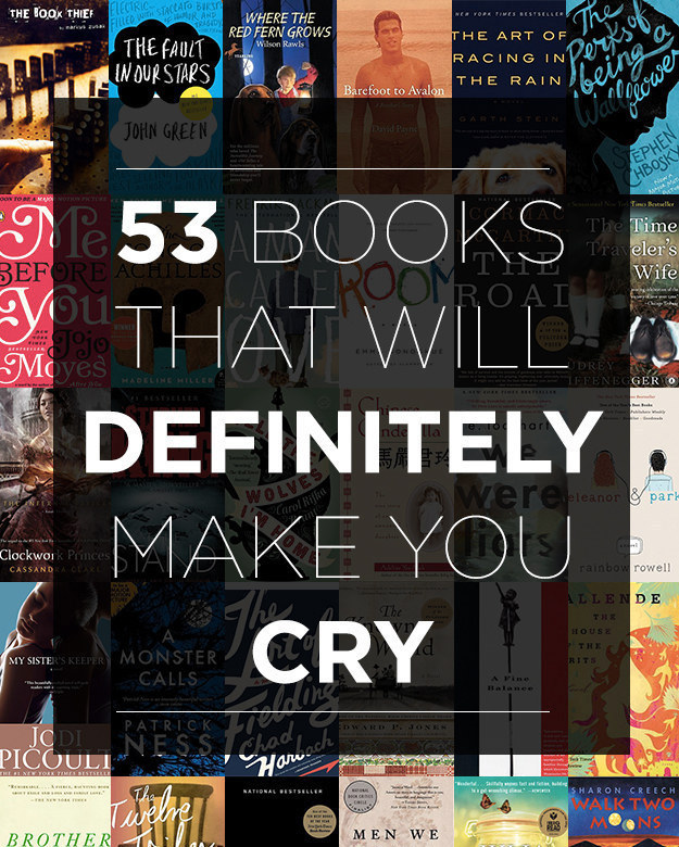 ... Will Definitely Make You Cry | BuzzFeed #reading #fiction | infophile