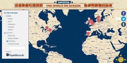 Maps Film and TV Show Locations   BusinessInsider + City Sound Maps
